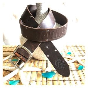 🇺🇸Stand Out Harley-Davidson Leather Belt